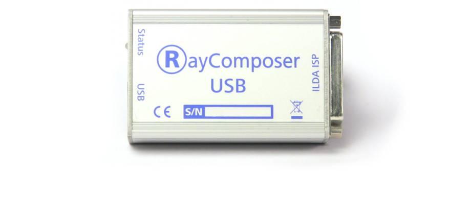 ILDA Ausgabekarte RayComposer USB